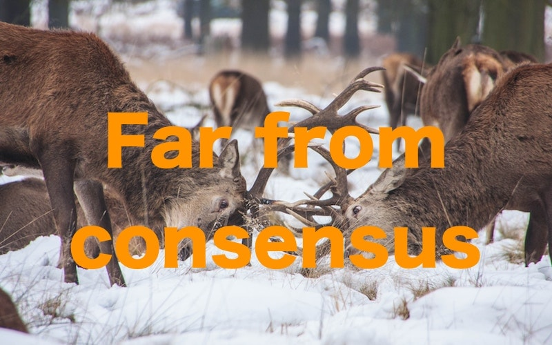 Far from consensus